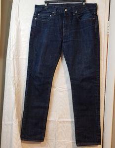 J.Crew 484  Kaihara denim dark 34 x 32 jeans